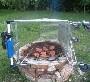 Yeah, ca c est du barbecue a l ancienne ;)